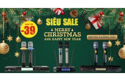 Sale tất cuối năm, micro không dây giảm 39% rẻ đến bất ngờ