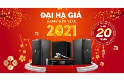 Tiễn năm tơi bời, Dàn karaoke JBL giảm 20 triệu, cực nhiều bộ dàn ngon