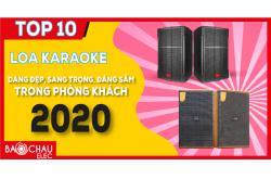 TOP 10 loa karaoke dáng đẹp, sang trọng, đáng sắm trong phòng khách năm 2020