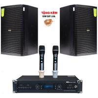 Dàn karaoke Domus cao cấp 2020-01 (Domus DP 6100, BKsound DP6000)