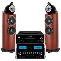 Dàn nghe nhạc Hi-End 02 (B&W 802 D3 Rosenut + McIntosh MA9000+  McIntosh MCD600 )