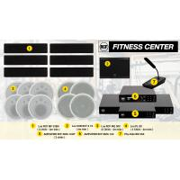 Hệ thống âm thanh nhạc nền RCF cao cấp phòng thể dục, Gym, yoga