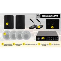 Hệ thống âm thanh nhạc nền RCF cao cấp cho nhà hàng