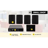 Hệ thống âm thanh nhạc nền RCF cao cấp cho shop, cửa hàng nhỏ