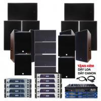 Hệ thống âm thanh quán bar, beer, Club DJ cao cấp 03 ( 300m2)