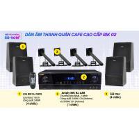 Hệ thống âm thanh Quán cafe cao cấp BIK 02 (50-90m2)