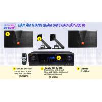 Hệ thống âm thanh Quán cafe cao cấp JBL 01