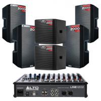 Hệ thống âm thanh quán PUB &  Lounge cao cấp 09 (100M2)