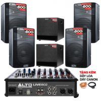 Hệ thống âm thanh quán PUB & Lounge giá rẻ 02 (100m2)