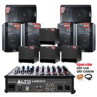 Hệ thống âm thanh quán PUB &  Lounge giá rẻ 03 (150m2)