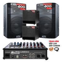 Hệ thống âm thanh quán PUB & Lounge giá rẻ 01 (50m2)