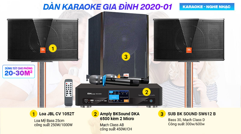 Dàn karaoke gia đình 2020-01