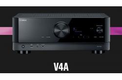 Amply Yamaha RX-V4A: Xem phim 8K mượt mà, chân thực, đa tính năng