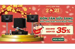 Dàn karaoke BMB hát cực phê, giá giảm cực mê đến 35% mừng Xuân 2021