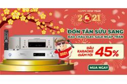 Đầu karaoke đã rẻ, nay còn rẻ hơn khi giảm đến 45% mừng năm mới, sắm ngay!