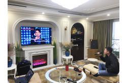 Lắp đặt dàn karaoke gia đình anh An tại Hà Nội (Domus DK612, VM620A, KX180, A120P, JBL VM300)