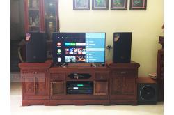 Lắp đặt dàn karaoke gia đình anh Bình tại Bắc Ninh (JBL MTS12, VM620A, BKSound X5 Plus, MK Sub30...)