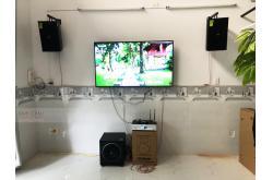 Lắp đặt dàn karaoke gia đình anh Bình tại Đà Nẵng (Domus DP6100, BKSound DKA 6500, Sub 1000New)