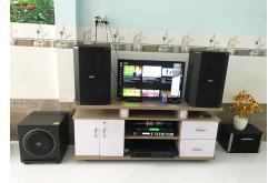 Lắp đặt dàn karaoke gia đình anh Bình tại Đồng Nai (BIK BSP412, VM620A, X6 Luxury, Sub1000, U900 Plus)