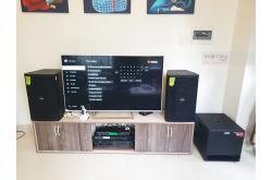 Lắp đặt dàn karaoke gia đình anh Châu tại Đà Nẵng (Domus DP6120, VM620A, BKSound X5 Plus, TX212S...)