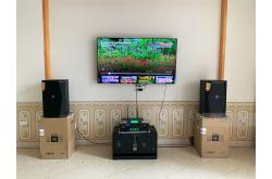 Lắp đặt dàn karaoke gia đình anh Chính tại Bắc Giang (JBL XS12, SAE TX800Q, BRP-8500, BJ-W66...)