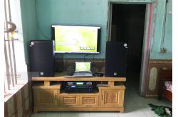 Lắp đặt dàn karaoke gia đình anh Cương tại Thái Nguyên (Alto AT2000, VM620A, DSP9000, UGX12)
