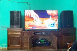Lắp đặt dàn karaoke gia đình chị Hằng tại Thanh Hóa (Lenovo KS750, VM620A, DSP9000, BCE U900 Plus X)