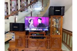Lắp đặt dàn karaoke gia đình anh Hiền tại Thanh Hóa (BIK BJ-S968, VM420A, DSP9000, BCE U900 Plus X)