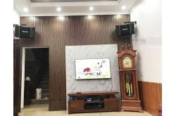 Lắp đặt dàn karaoke gia đình anh Hùng tại Bắc Giang (BIK BJ-S968, BIK VM620A, BPR8500, BJ-U550)