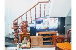 Lắp đặt dàn karaoke gia đình anh Hùng tại Bình Dương (RCF EMAX 3110, VM620A, JBL KX180, Sub1000...)