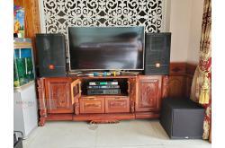 Lắp đặt dàn karaoke gia đình anh Hùng tại Kiên Giang (JBL CV1270, VM620A, Alto AK600, A120P, AAP K800II)