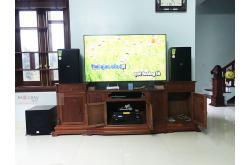 Lắp đặt dàn karaoke gia đình anh Khánh tại Bắc Ninh (Domus DP6120, VM620A, BPR8500, SW512-C, UGX12)