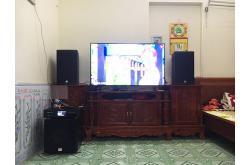 Lắp đặt dàn karaoke gia đình anh Linh tại Bắc Ninh (Alto AT1000, BKSound DKA 6500, SW512-B)