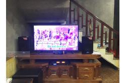 Lắp đặt dàn karaoke gia đình anh Minh tại Bắc Ninh (Alto TX208, BKSound DSP-9000, BW 604Gs, BCE U900)