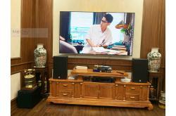 Lắp đặt dàn karaoke gia đình anh Minh tại Hà Nội (Alto AT1000, BIK VM420A, JBL KX180, BCE UGX12)