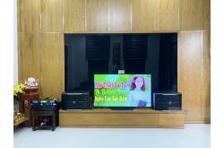 Lắp đặt dàn karaoke gia đình anh Nam tại Đà Nẵng (JBL Pasion 12, VM620A, KX180, BCE UGX12)