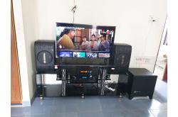 Lắp đặt dàn karaoke gia đình anh Quốc tại Đà Nẵng (BIK BJ-S668, BIK BJ-A88, BJ-W30, BIK BJ-U100)