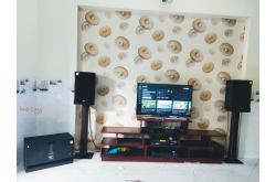 Lắp đặt dàn karaoke gia đình anh Sinh tại Bình Dương (RCF CMAX 4112, VM840A, BPR8500, BJ-W66...)