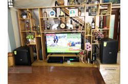 Lắp đặt dàn karaoke gia đình anh Sơn tại Hưng Yên (Domus DP6120, VM620A, X5 Plus, SW512-B...)