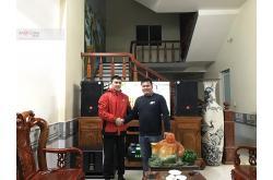 Lắp đặt dàn karaoke gia đình anh Thanh tại Bắc Giang (JBL CV1570, TX800Q, BIK BPR-8500, BJ-W66...)