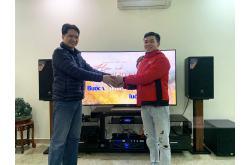 Lắp đặt dàn karaoke gia đình anh Thịnh tại Hà Nội (JBL MTS12, Xli2500, JBL KX180, A120P, JBL VM300)