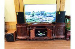 Lắp đặt dàn karaoke gia đình anh Thuyên tại Hưng Yên (Domus DP6120, STD6004, X6 Luxury, Sub2000...)