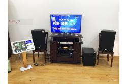 Lắp đặt dàn karaoke gia đình anh Triều tại Bình Dương (RCF EMAX 3112, VM620A, KX180, R120SW...)
