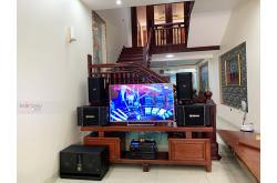 Lắp đặt dàn karaoke gia đình anh Trọng tại Hưng Yên (BIK BSP410, BIK BJ-S968, VM640A, BPR-8500...)