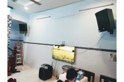 Lắp đặt dàn karaoke gia đình anh Trung tại TP HCM (RCF EMAX 3112, BKSound DKA 8500, Paramax Sub2000)