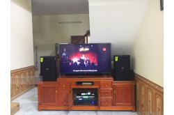 Lắp đặt dàn karaoke gia đình anh Tú tại Bắc Ninh (Domus DP6120, BIK VM620A, DSP9000, BCE U900)