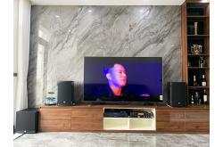 Lắp đặt dàn karaoke gia đình anh Tùng tại Hà Nội (RCF EMAX 3110, Xli2500, JBL KX180, A120P, UGX12)
