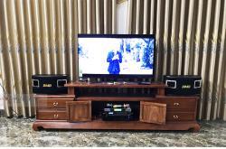 Lắp đặt dàn karaoke gia đình anh Tuyên tại Bắc Giang (BMB CSV 450SE, BIK VM620A, BSP-9000, UGX12)