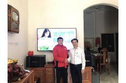 Lắp đặt dàn karaoke gia đình anh Việt tại Hưng Yên (BIK BJ-S968, BKSound DKA-6500, SW512-C)