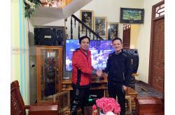 Lắp đặt dàn karaoke gia đình anh Vũ tại Thanh Hóa (BMB CSE312SE, VM620A, DSP9000, BCE U900)